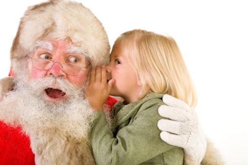 Child-sitting-on-Santas-Lap