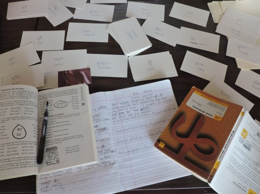 Yes, my dining room table really looks like this when I'm studying. Really