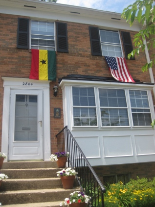 The DiploFam's digs during the 2014 World Cup.