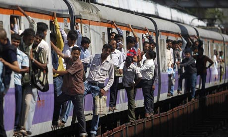 A train fire in India is believed to have killed dozens of people.